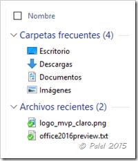 Windows 10 - Acceso rápido - palel.es